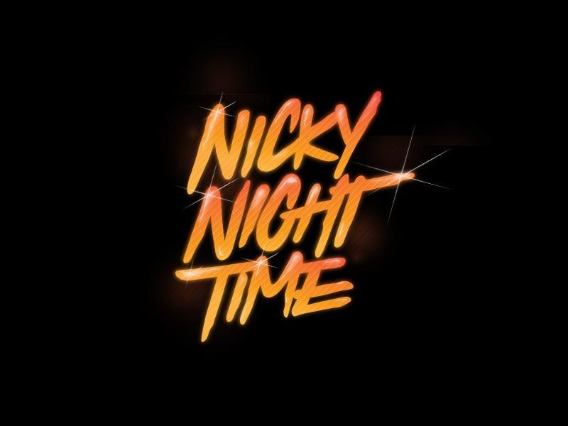Nicky Night Time logo